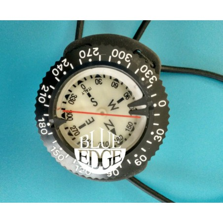 Compass with bungee, low profile