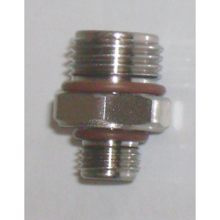 Adapter 3/8-24 male to 9/16-18 male Low Pressure